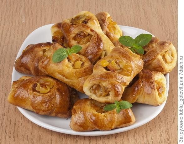 Пирожки с курагой и яблоками/Фото: А. Соколов/BurdaMedia