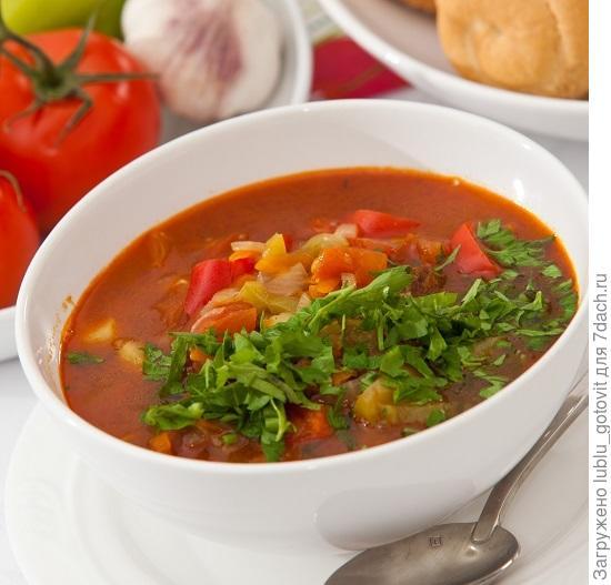 Густой суп с говядиной/Фото: К. Виноградов/BurdaMedia