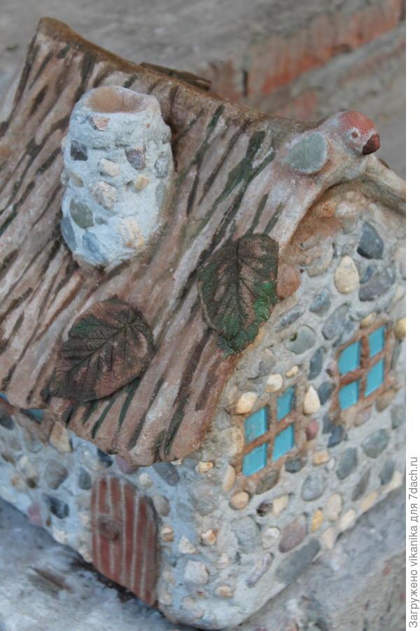 бетонный домик