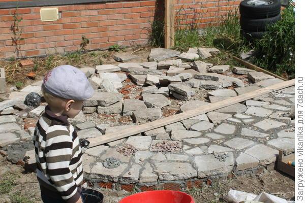 патио. строительство
