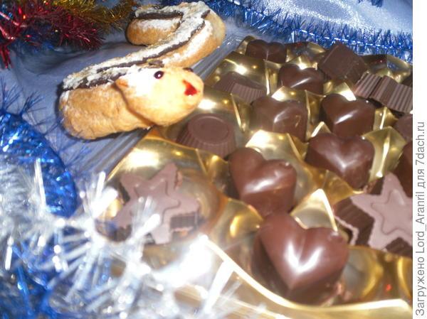 """Шоколадные конфетки """"Праздник к нам приходит!"""""""