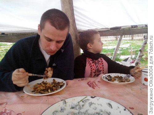мой Женька и сынка Эмилианчик