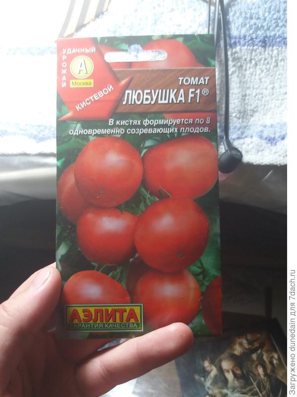 Дополнительный пакетик семян томата