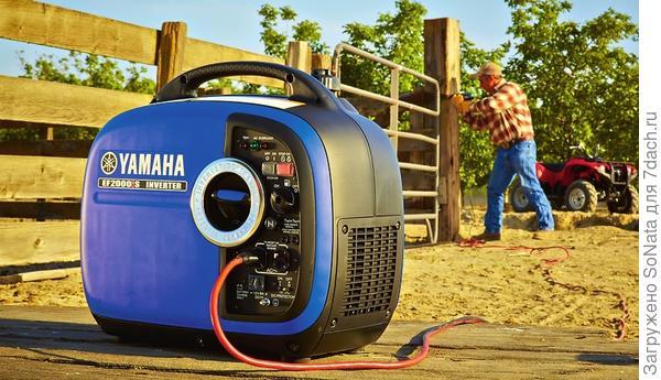 Инверторные генераторы Yamaha
