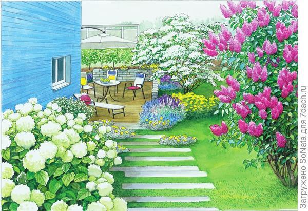 Зеленая садовая комната