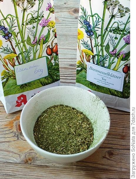 Применяют травяные сборы как приправу к салатам, мюсли, супам или овощным блюдам.