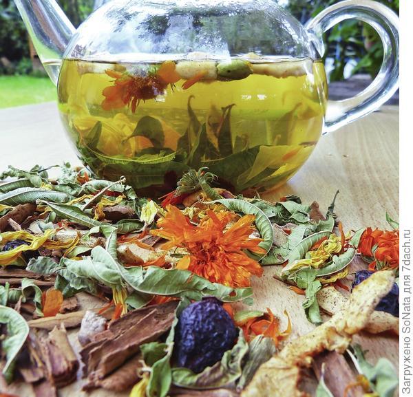 Успокаивающий чай для долгих осенних и зимних вечеров
