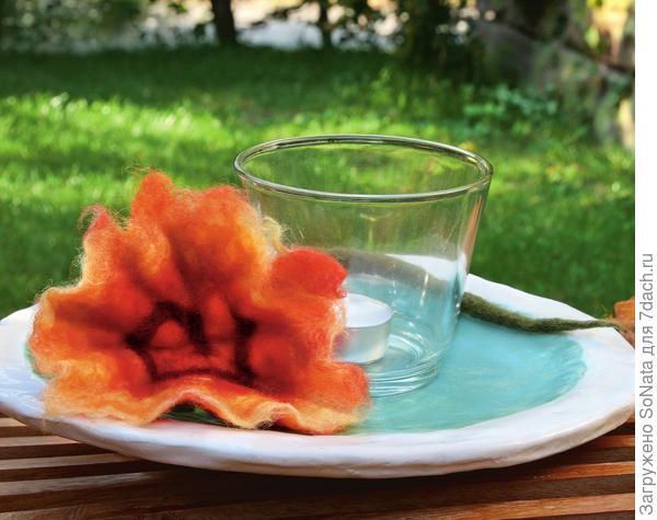 Разноцветная шерсть, теплая вода и оливковое мыло - попробуйте себя в роли валяльщика
