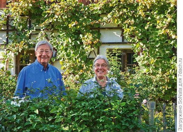 Рудольф и Ильза Гласауер выросли в большом городе, но уже много лет они с удовольствием живут в деревне и за это время сделались опытными садоводами.