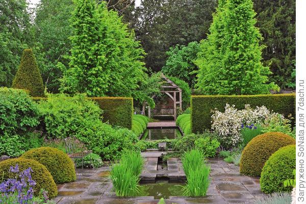 По-настоящему красивым сад делает именно композиция.