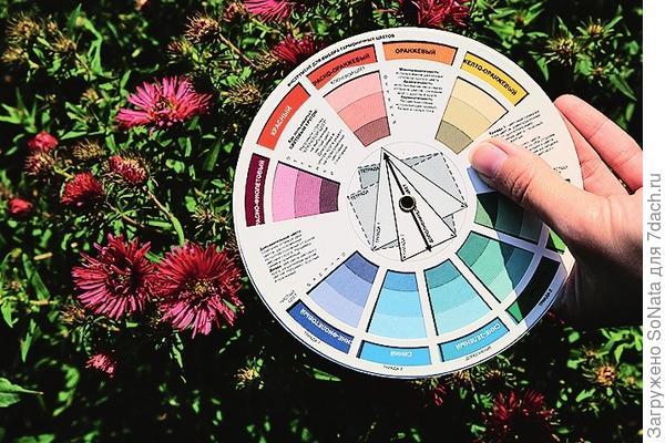 Цветовой круг дизайнера - удобная подсказка, которая всегда под рукой.