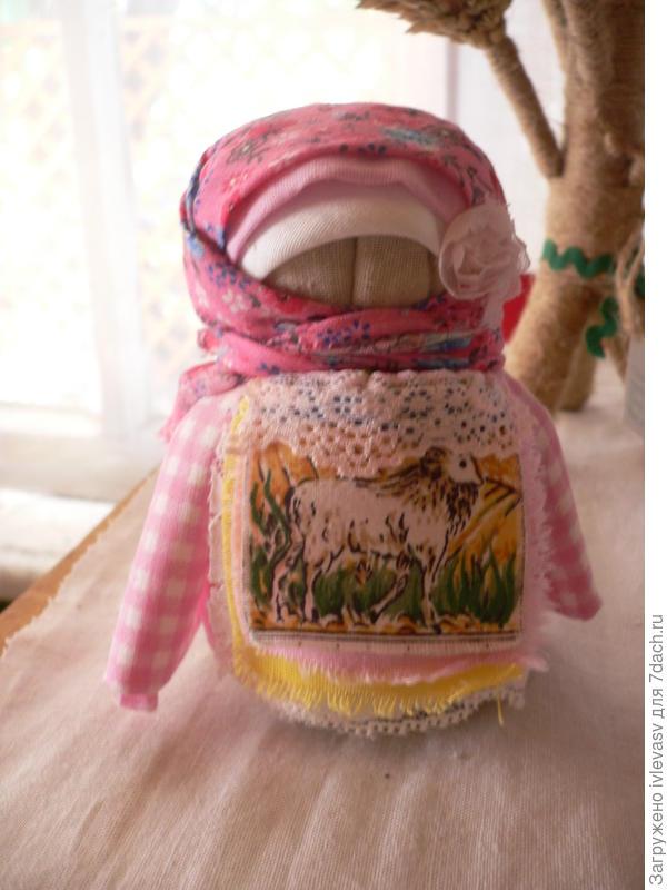 Кукла- крупеничка для достатка в доме и хорошего урожая.