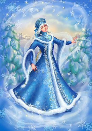 От прекрасной Снегурочки Иры! Снегурочки-рукодельницы!