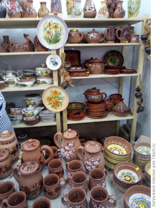 Керамика из Тарусы (Калужская область)