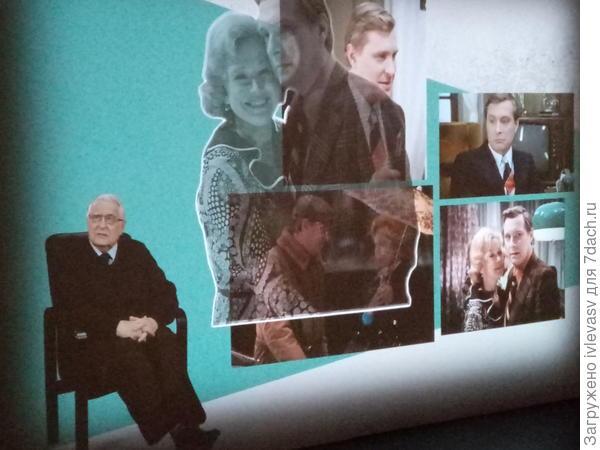 В виртуальном зале любимые актеры рассказывали о фильмах