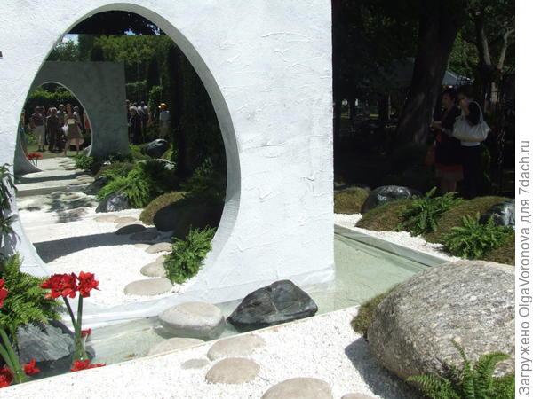Садовые зеркала необходимо ещё и правильно установить