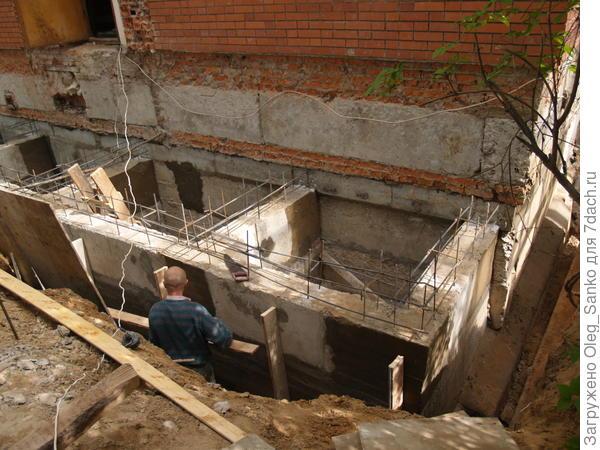 Новый фундамент позволит увеличить площадь дома