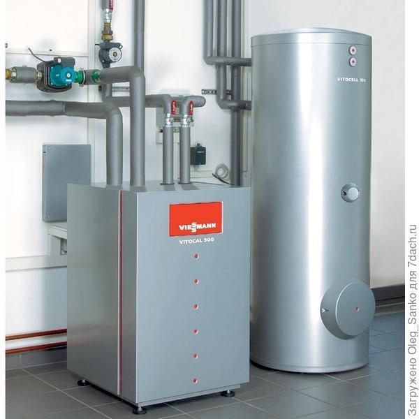 Комплект оборудования компании Viessmann Фото:www.viessmann.ru