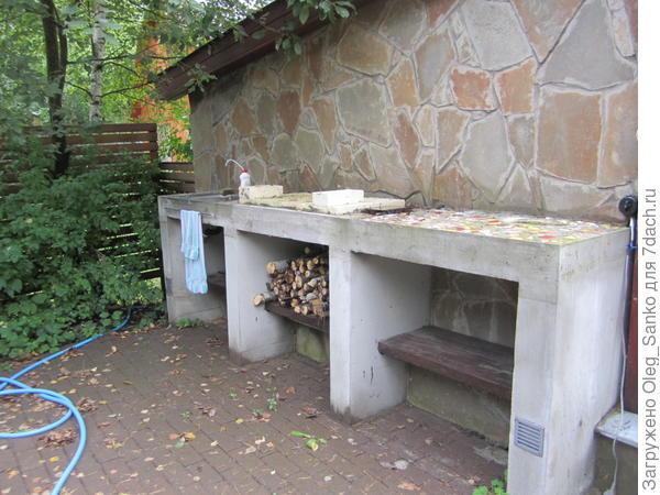 Многофункциональный кухонный блок