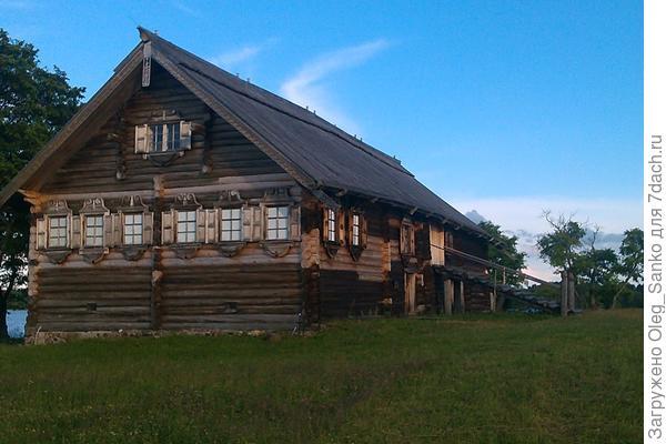 Типичный дом русского севера