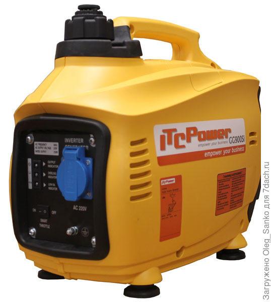 Бензиновый электрогенератор ITC Power GG900Si