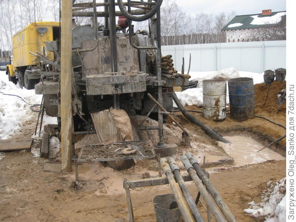 Механизированная установка для бурения скважин