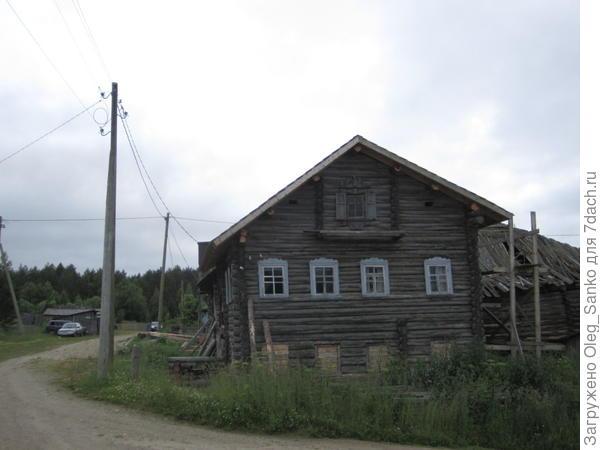 Поселок Пяльма, до Онежского озера - 500 метров