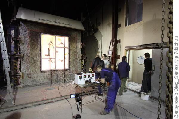 Огневые испытания строительных изделий