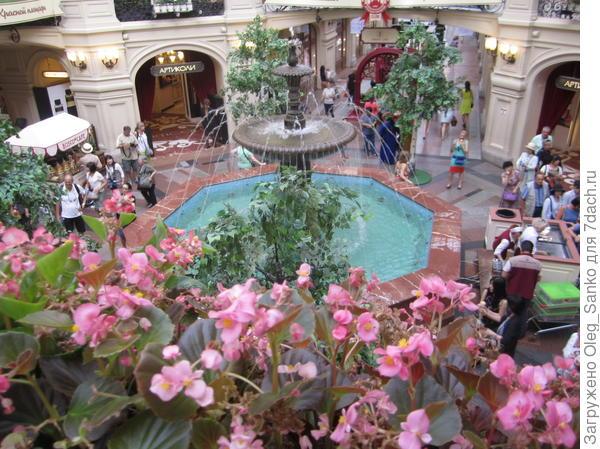 Вот и легендарный фонтан
