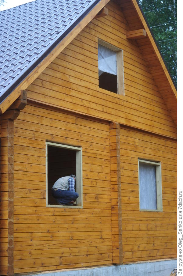 Подготовка к установке окна