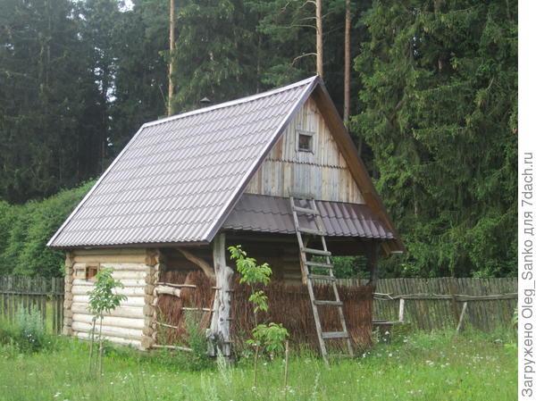 Пример выполнения небольшой постройки