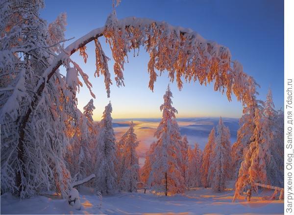 Снимок сделан в Якутии в 57 градусов мороза