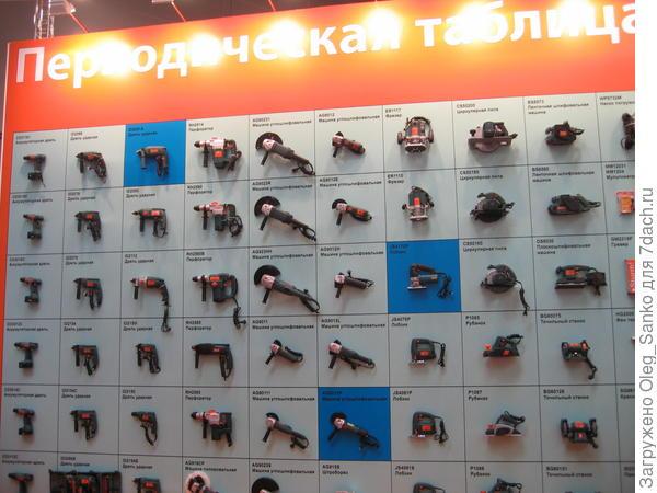 Стенд выставки электроинструмента
