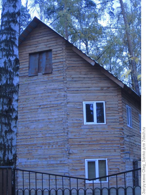 Брусовой дом в Подмосковье