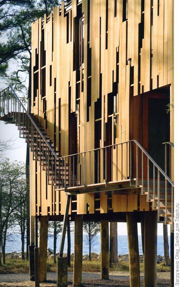 Дом в окружении деревьев