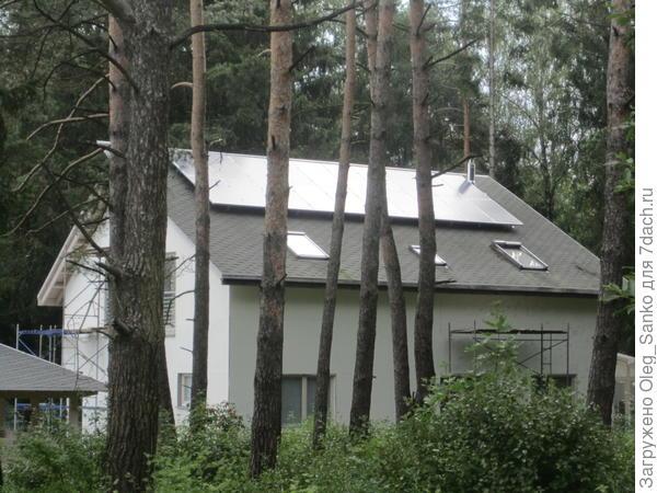 Показательный дом в Белоруссии.