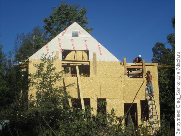 Каркасный дом - завершение проекта