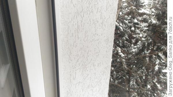 Откосы окна