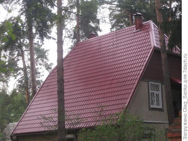 Крутая крыша