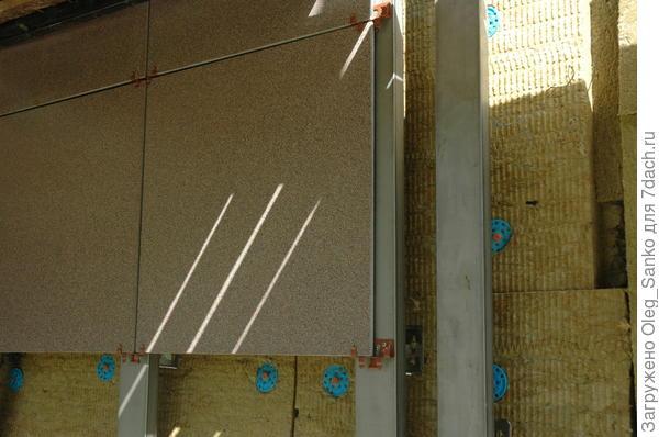 Экран вентилируемого фасада