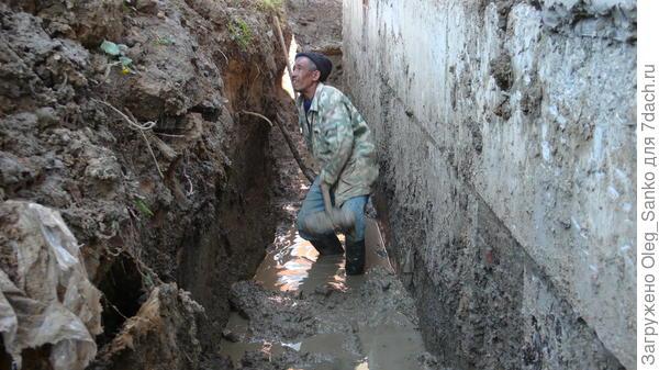 Грубые ошибки при дренаже почвы на участке