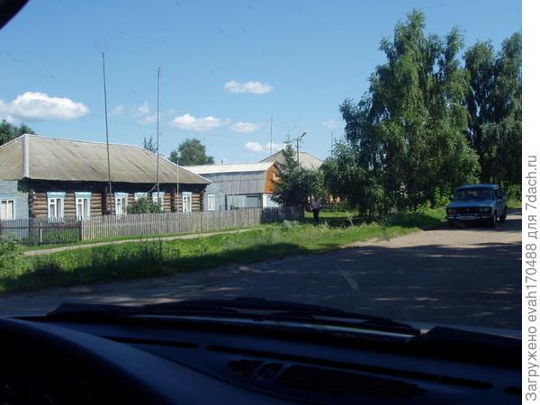 наши деревеньки из окна автомобиля