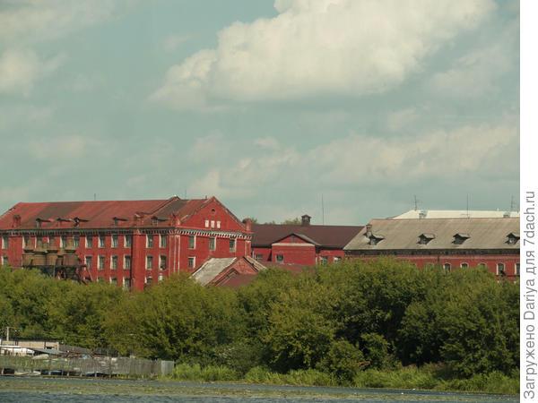 Старинная промышленная архитектура