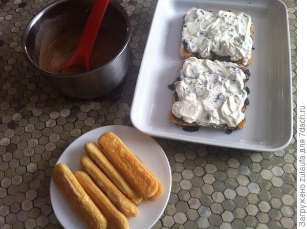 Десерт - Савоярди по-дачному