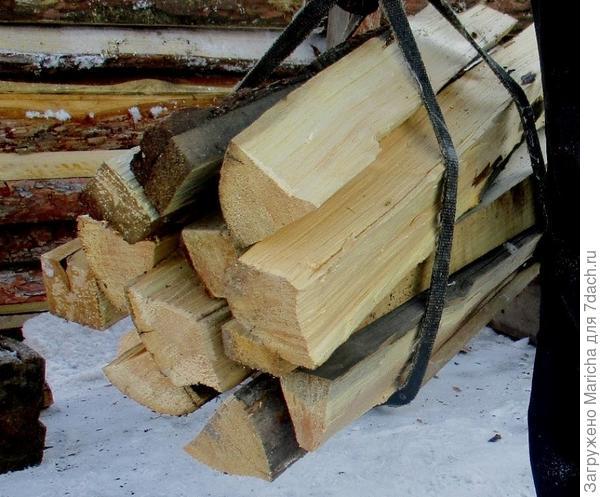 Приспособление для переноски дров.