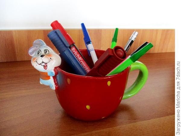 Кружка-карандашница