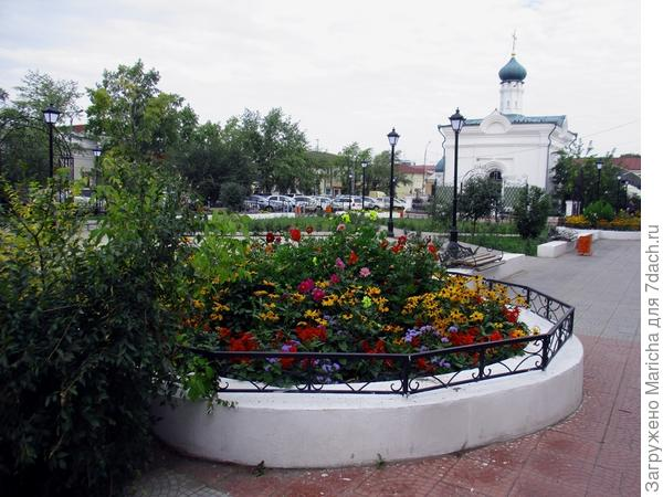 Александровский сад. Часовня Иннокентия Чудотворца