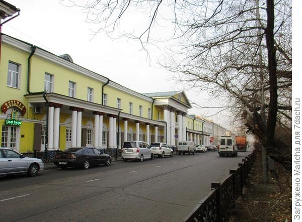 Тогговые ряды купца Курбатова