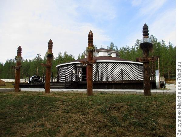 Юрта-музей