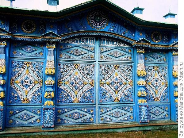 Расписные ворота